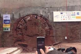 Percement tunnel de Saverne