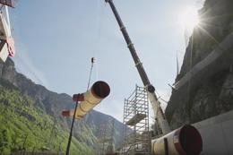 Présentation de l'usine hydroélectrique de Romanche Gavet