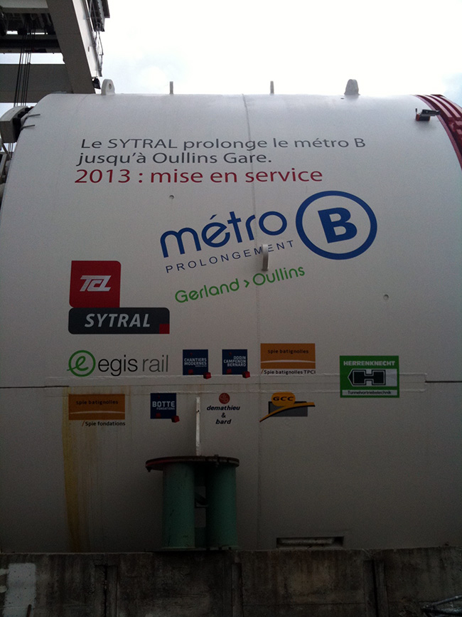 Metro Ligne B - Lyon
